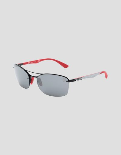 Ray-Ban for Scuderia Ferrari with mirrored lenses 0RB3617M