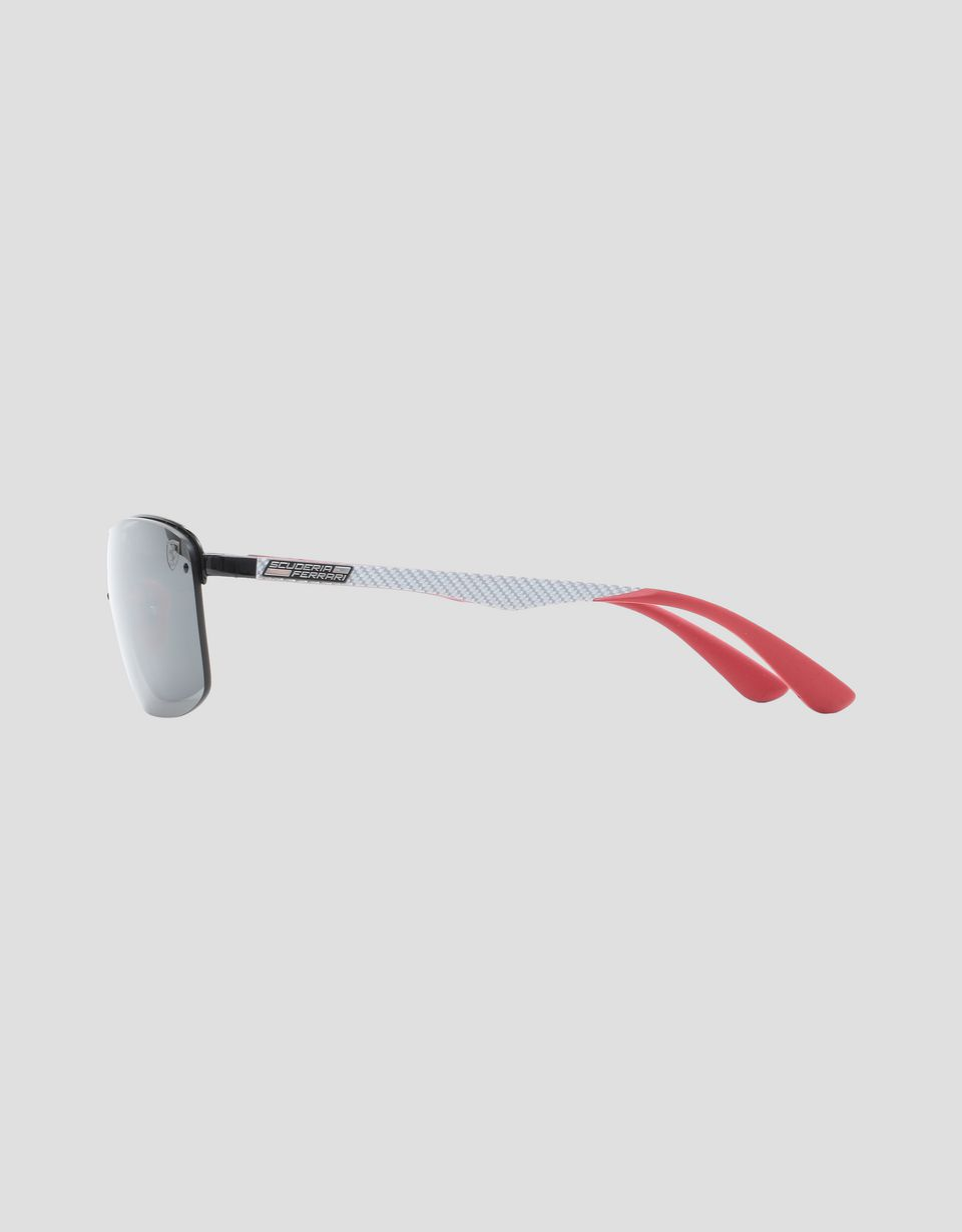 Scuderia Ferrari Online Store - Ray-Ban for Scuderia Ferrari with mirrored lenses 0RB3617M - Sunglasses