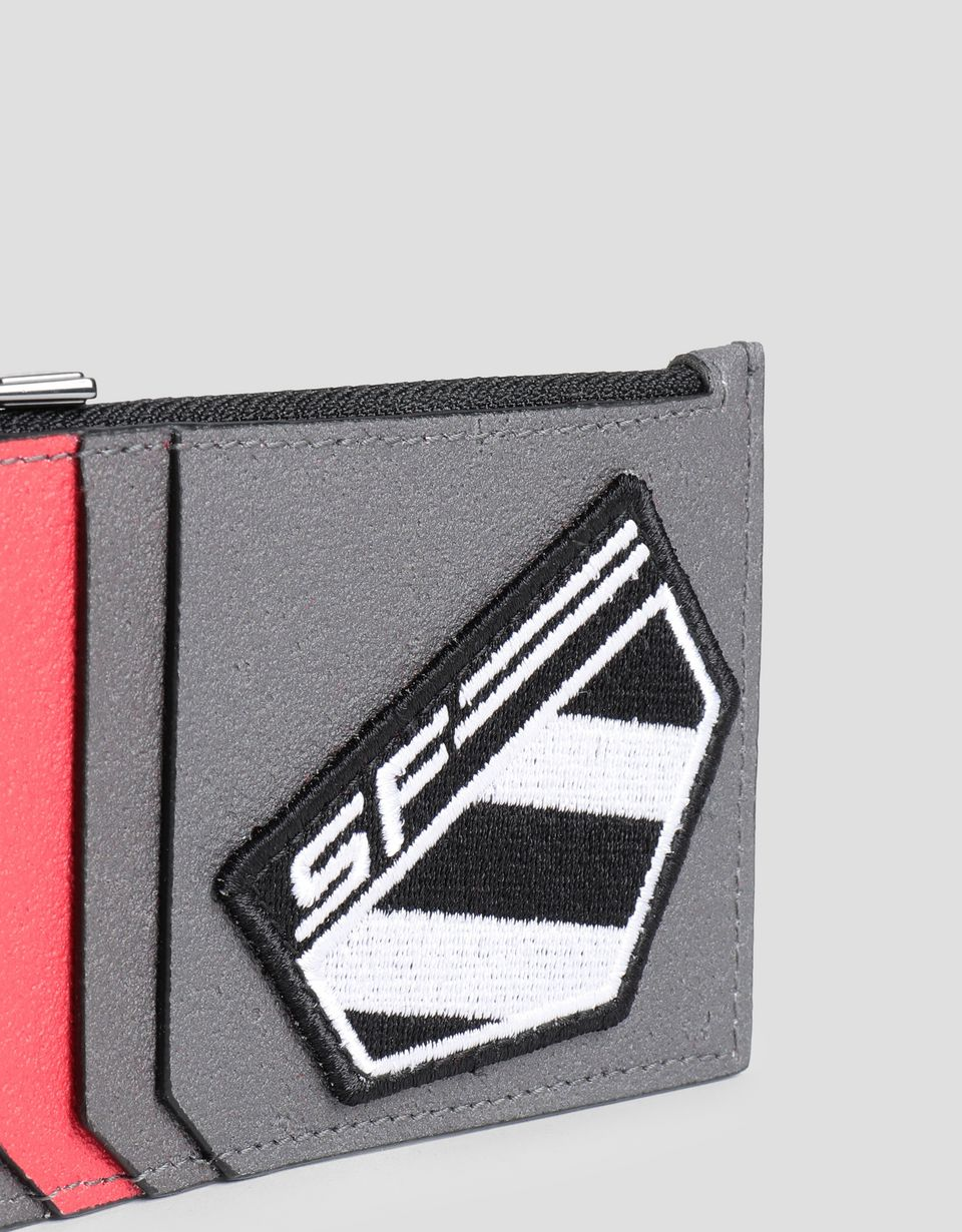 Scuderia Ferrari Online Store - Made in Italy Freccia Livrea credit card holder - Credit Card Holders