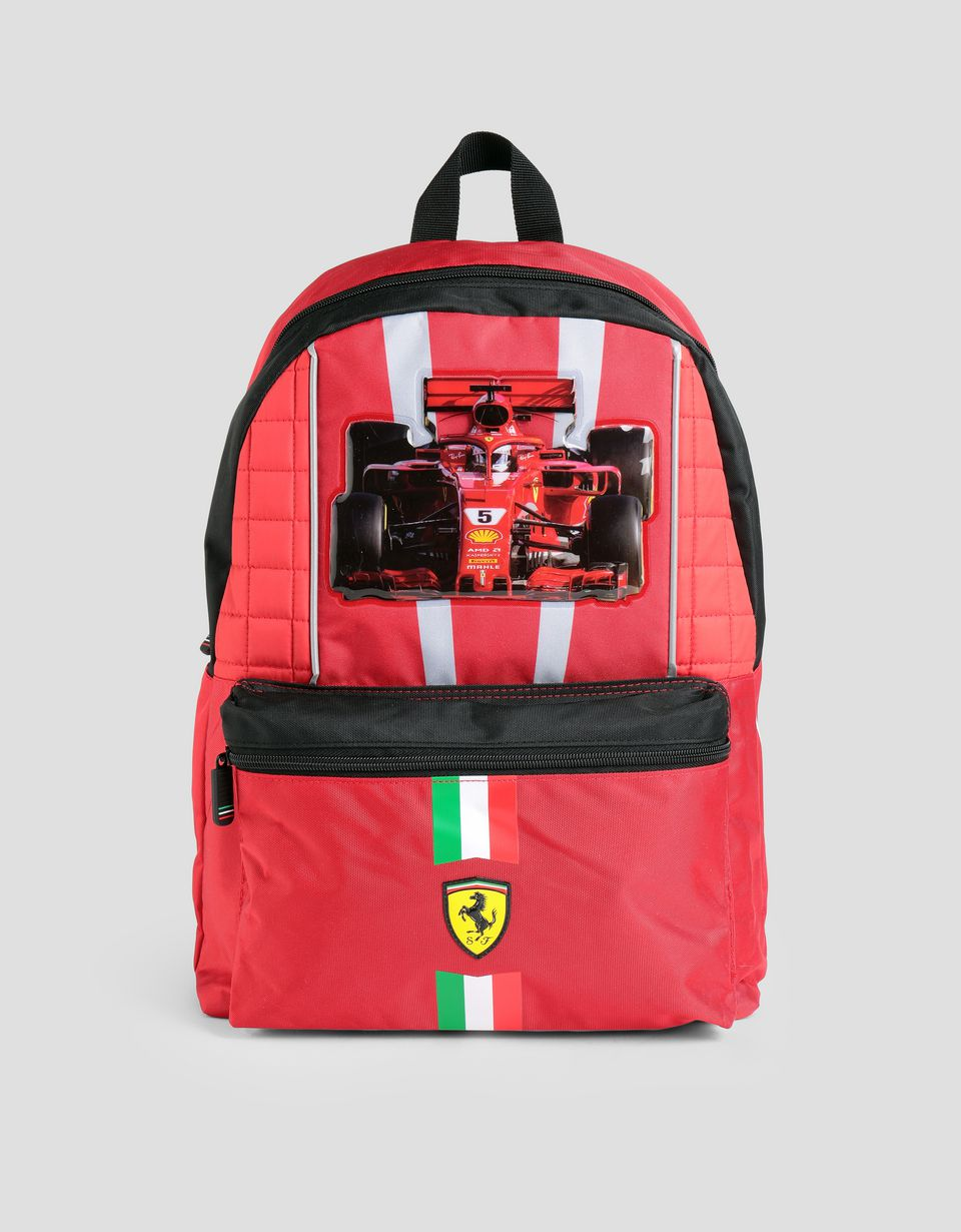 Scuderia Ferrari Online Store - School backpack - Regular Rucksacks