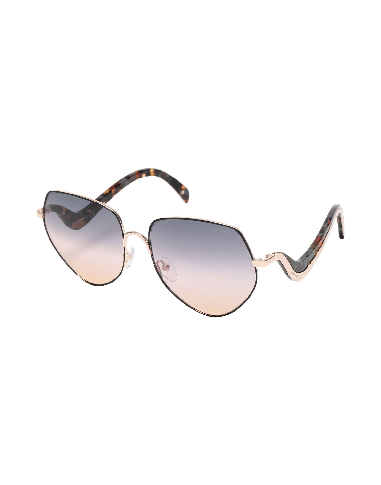 EMILIO PUCCI Солнечные очки цены онлайн