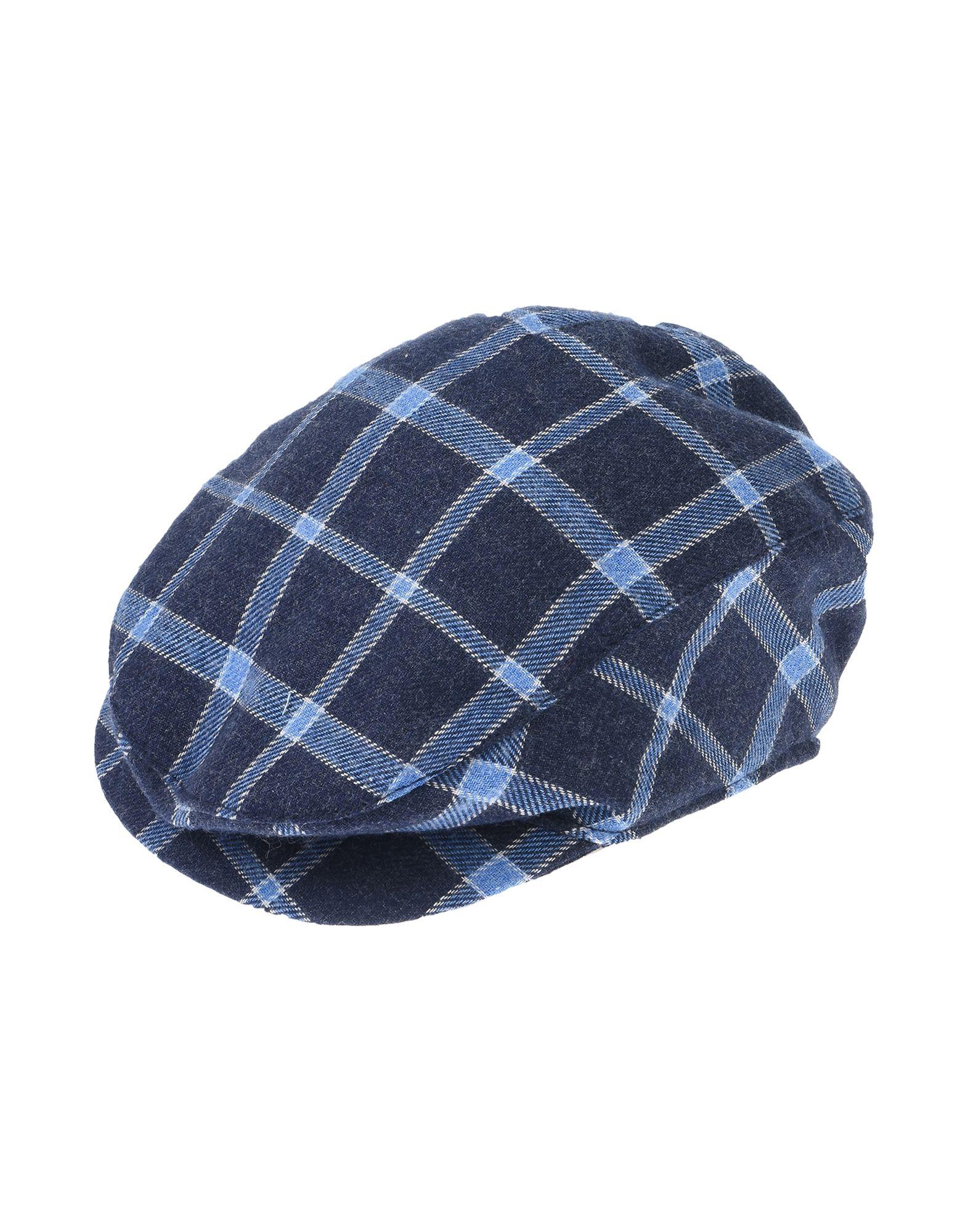 《セール開催中》ALETTA ボーイズ 0-24 ヶ月 帽子 ダークブルー 1 コットン 60% / PES - ポリエーテルサルフォン 40%