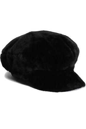 CHARLOTTE SIMONE Faux fur cap