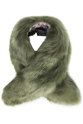 CHARLOTTE SIMONE Faux fur scarf
