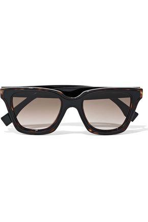 FENDI D-frame acetate sunglasses