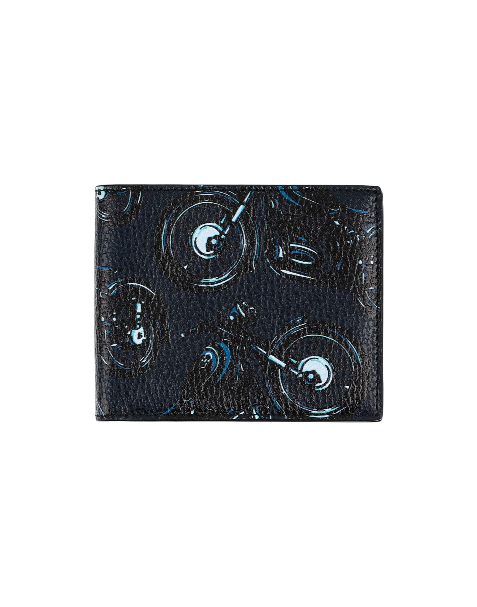 《送料無料》SALVATORE FERRAGAMO メンズ 財布 ダークブルー 革