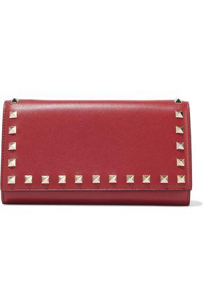 VALENTINO GARAVANI Rockstud leather continental wallet