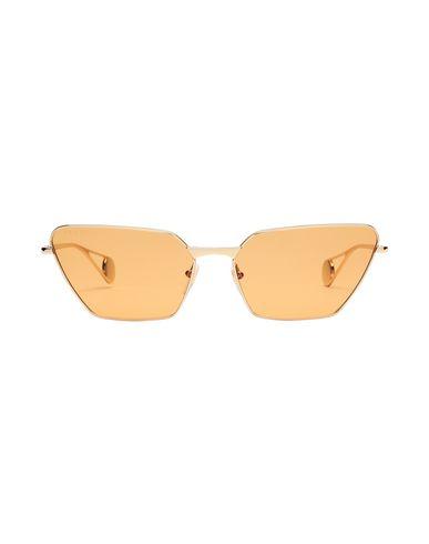 Фото 2 - Солнечные очки золотистого цвета