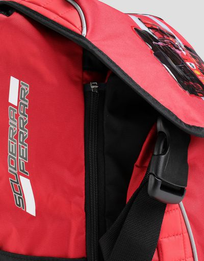 Scuderia Ferrari Online Store - Children's expandable backpack - Regular Rucksacks