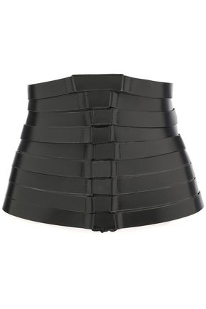 ANN DEMEULEMEESTER Lace-up leather belt