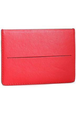 MARNI Two-tone leather cardholder
