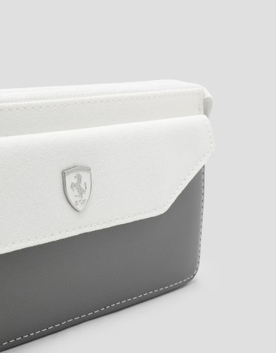 Scuderia Ferrari Online Store - Women's Scuderia Ferrari wallet - Horizontal with coin Wallets