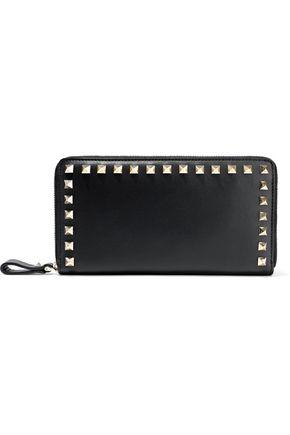 VALENTINO GARAVANI Studded leather continental wallet