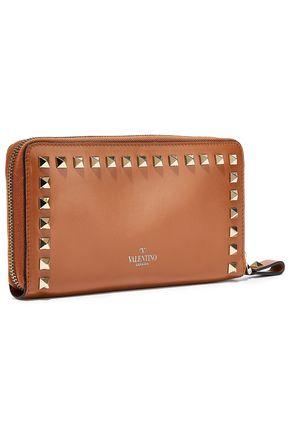 VALENTINO GARAVANI Rockstud leather continential wallet