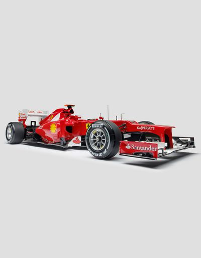 Ferrari Alonso F2012 model in 1:8 scale