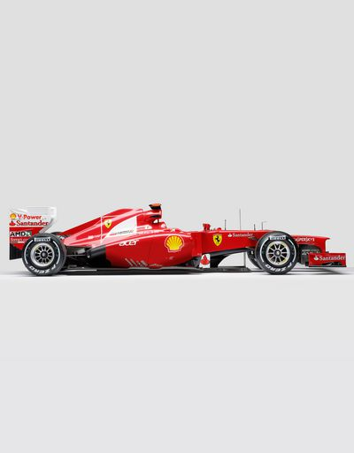 Ferrari F2012 Alonso model in 1:8 scale