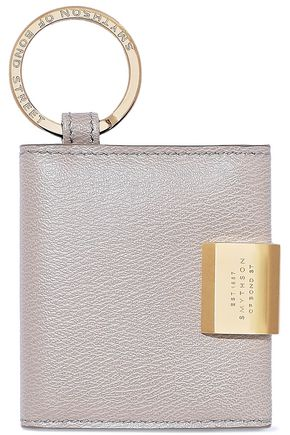 SMYTHSON Grosvenor leather keychain