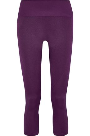 PEPPER & MAYNE Margot cropped ribbed stretch leggings