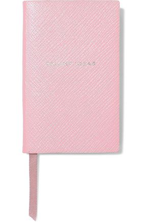 SMYTHSON Wafer Bright Ideas textured-leather notebook