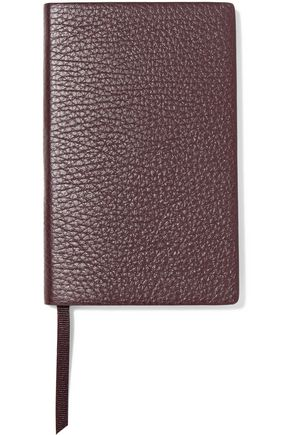SMYTHSON Panama textured-leather notebook