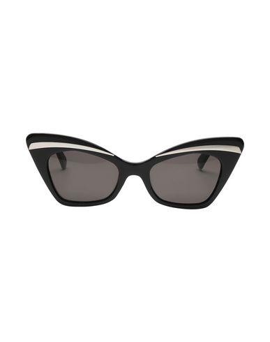 Фото 2 - Солнечные очки от KAREN WALKER черного цвета