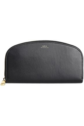 A.P.C. Leather continental wallet