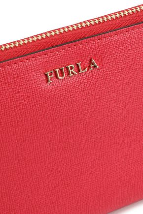 FURLA Textured-leather continental wallet