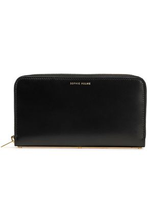 SOPHIE HULME Polished leather continental wallet