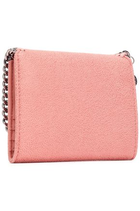 STELLA McCARTNEY Falabella faux brushed-leather wallet