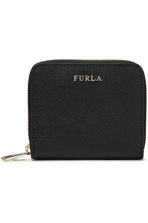FURLA Textured-leather wallet