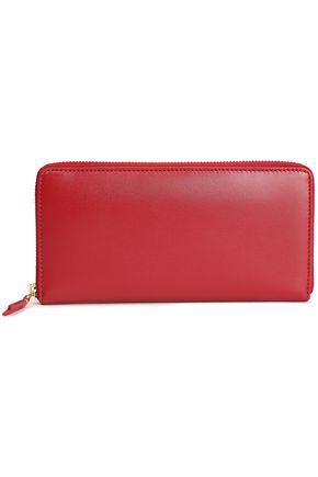COMME des GARÇONS Leather continental wallet