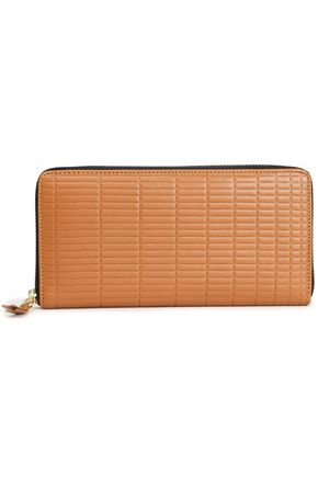 COMME des GARÇONS Quilted leather continental wallet