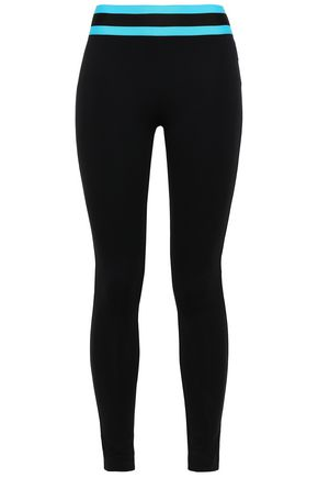 NO KA 'OI Striped stretch leggings