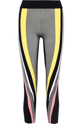 NO KA 'OI Nohona Kela cropped color-block stretch leggings