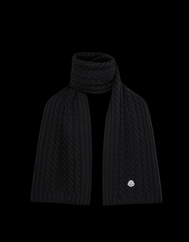 SCARF Black Category Scarves