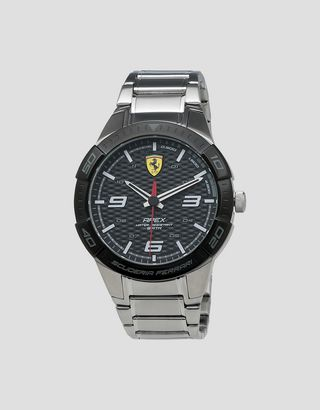 Scuderia Ferrari Online Store - Steel Apex watch with black face - Quartz Watches