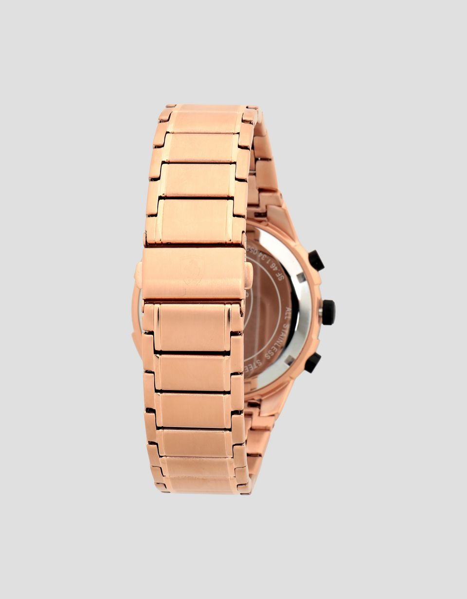 Scuderia Ferrari Online Store - Multi-functional rose gold color Apex watch - Quartz Multifunctional Watch