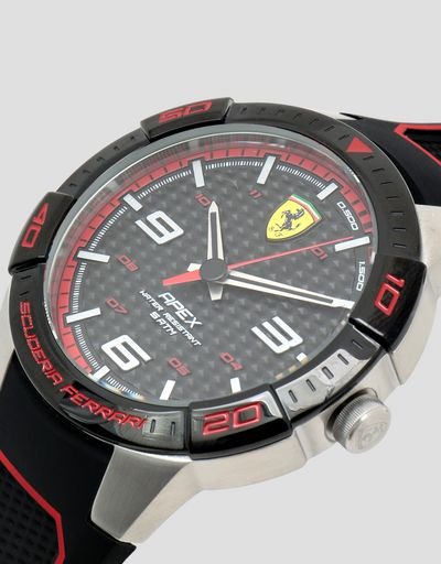 Scuderia Ferrari Online Store - Black Apex watch with red details - Quartz Watches