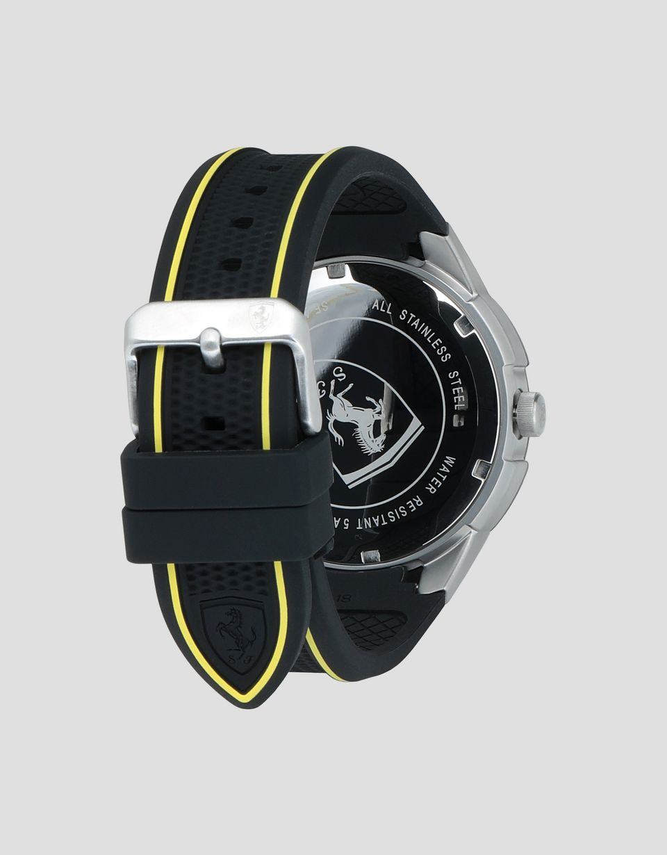 Scuderia Ferrari Online Store - Black Apex watch with yellow details -