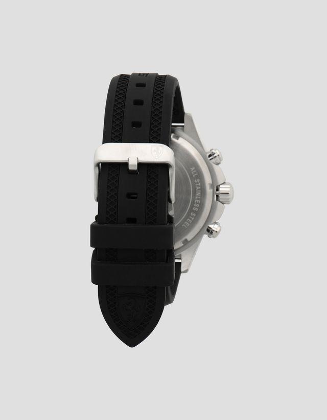 d0061c3d659f ... Scuderia Ferrari Online Store - Reloj cronógrafo Pilota con caja de  acero y esfera negra ...