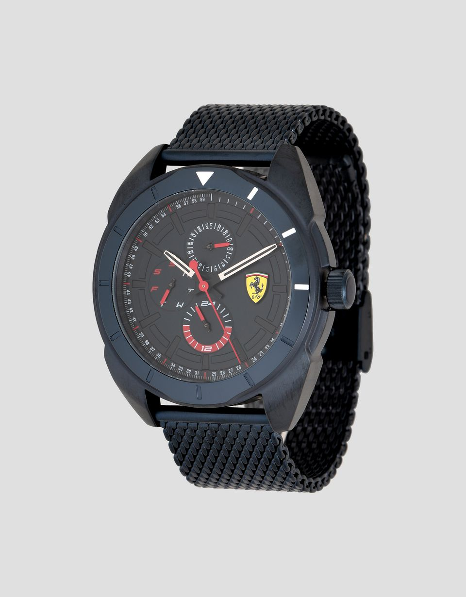 Scuderia Ferrari Online Store - Multi-functional blue Forza watch - Quartz Multifunctional Watch