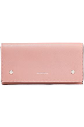 BURBERRY Textured-leather continental wallet