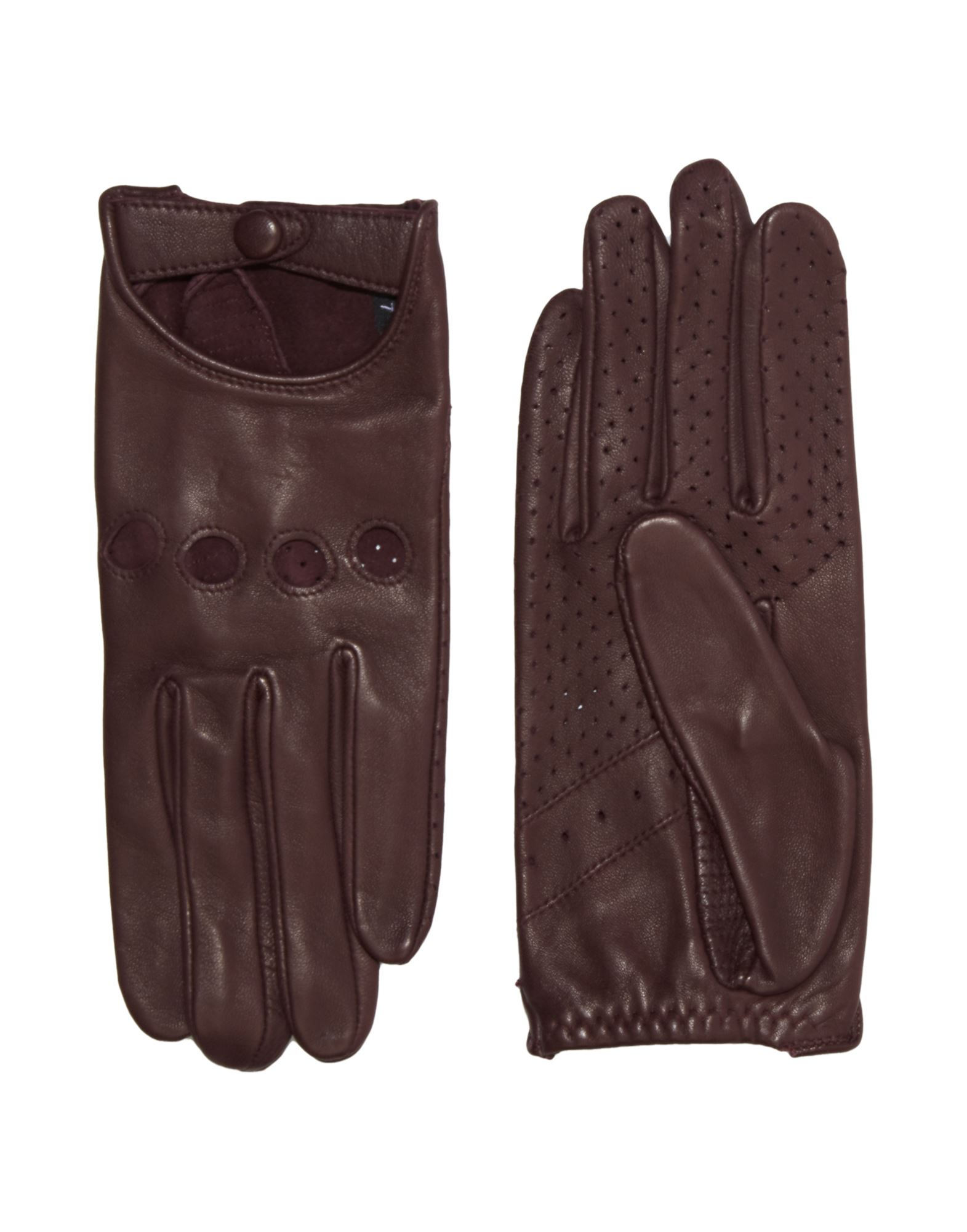 ISABEL MARANT Gloves. no appliqués, basic solid color, contains non-textile parts of animal origin. Lambskin