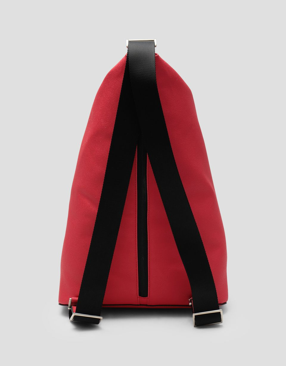 Scuderia Ferrari Online Store - Freccia Livrea backpack Made in Italy from technical fabric - Regular Rucksacks