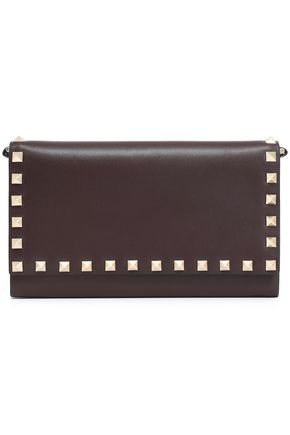 VALENTINO GARAVANI Studded leather continental wallet