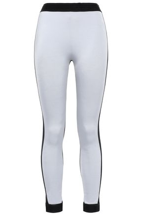 NO KA 'OI Two-tone stretch leggings