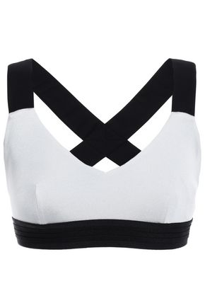 NO KA 'OI Cutout stretch sports bra