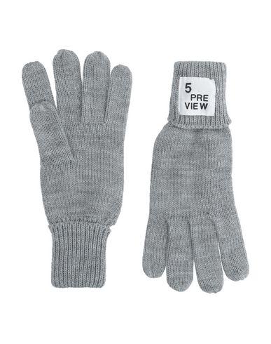 Купить Мужские перчатки 5PREVIEW серого цвета