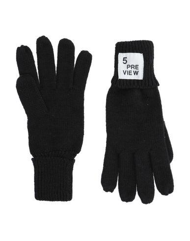 Купить Мужские перчатки 5PREVIEW черного цвета