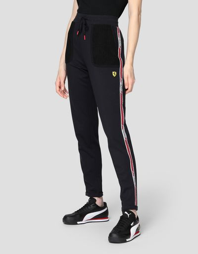 Damen-Jogginghose aus Punto Milano mit Icon Tape